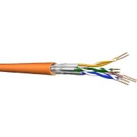 UC900 SS 23 4P LSHF+ (100 Meter) - Datenkabel, Kat.7, Ri.100 S/FTP AWG23 orange UC900 SS 23 4P LSHF+