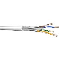 UCHOME SS26 Ri100 (100 Meter) - Datenkabel Kat.7 4P S/FTP AWG26 weiß UCHOME SS26 Ri100