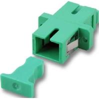 EFB Elektronik koppeling SC-APC-simplex keramische huls singlemode, 12 stuks