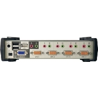 CS-1734B - KVM Switch USB-Audio 4Port CS-1734B