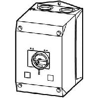 CI-K4-PKZ4-G - Isolierstoffgehäuse f.Motorschutzschalte CI-K4-PKZ4-G
