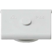 Image of 000930 - Cable entry duct slider grey 000930
