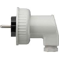 Image of 002031 - Schuko plug white 002031