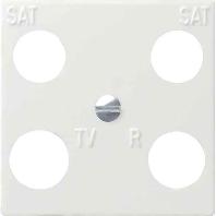 025803 - Zentraleinsatz rws-gl 50x50 Hirschmann 025803