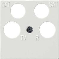 025940 - Zentralplatte rws 50x50 Ankaro 025940