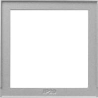 Gira TX 44 Overgangsplaat aluminium TX_44 028965