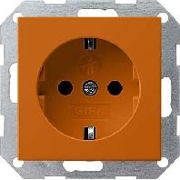 272602 - SCHUKO Steckdose orange 272602