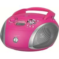 RCD 1445 USB pink/si - CD-Radio RCD 1445 USB pink/si