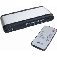 HDMI 51 si/sw - HDMI-Umschalter 5-fach HDMI 51 si/sw