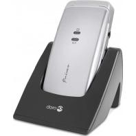 doro Primo 405 si/gr - GSM Mobiltelefon silber grau doro Primo 405 si/gr