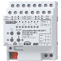 2514 REGHE - KNX Jalousieaktor REG Gehäuse 4TE 2514 REGHE