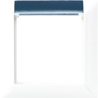 AS581-1 BFINA WW - Rahmen 1-fach aws mit Fenster AS581-1 BFINA WW