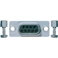 D SUB 9 - Trapezsteckverbinder 9-pol. D SUB 9