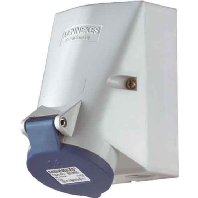 420 - Wanddose TwinCONTACT 32A,3p,6h,230V,IP44 420