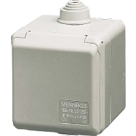 4900 - Schuko-Wanddose Cepex 16A,2p+E,230V,IP44 4900