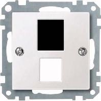 295719 - Zentralplatte pws f.Steckv.Mod.Jack 295719