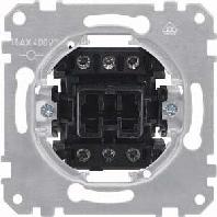311300 - Wippschalter-Einsatz Aus 3-pol. 311300