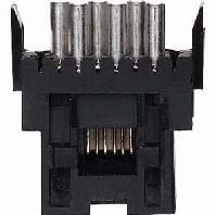 465516 - Steckverbinder sw 6-pol.RJ11 Kat.3 465516