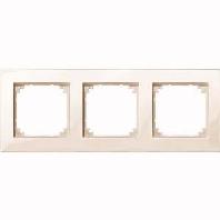 MEG4030-2844 - Rahmen 3-fach ws/gl bündiger Einbau MEG4030-2844