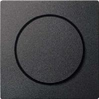 MEG5250-0414 - Zentralplatte anth mit Drehkknopf MEG5250-0414