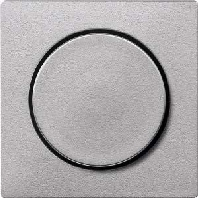 MEG5250-0460 - Zentralplatte alu mit Drehkknopf MEG5250-0460