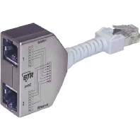 130548-02-E Set - Cable-sharing-Adapter Ethernet/ISDN 130548-02-E Set
