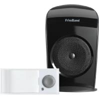 D3004S - Funkgongset m.Klingeltaste portabel,4Klang,sw D3004S