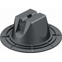 165 MBG-10 200 (12 Stück) - Dachleitungshalter für Fla chdächer 165 MBG-10 200