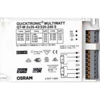 QT-M2x26-42/220-240S - Vorschaltgerät Quicktronic QT-M2x26-42/220-240S