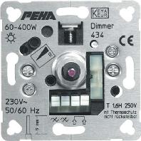 D 434 o.A. - Phasenanschnittdimmer 60-400W D 434 o.A.