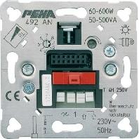 D 492 AN O.A. - UP-Dimm-und Schalt-Einsatz Triac Einsatz D 492 AN O.A.