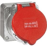 D 6991.69 AGU WE - CEE-Steckdose alu guss 32A 400V D 6991.69 AGU WE
