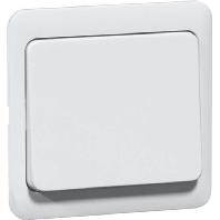 D 80.420 AW - Tastaufsatz arctic für Dimmer/Schalter D 80.420 AW
