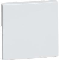 D 95.420.03 - Tastaufsatz 1-fach ws für UP-Empfänger D 95.420.03