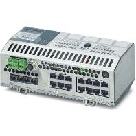 FLSWITCHSMCS14TX/2FX - Netzwerk Switch 14 RJ45-Ports FLSWITCHSMCS14TX/2FX