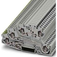 STI 2,5-PE/L/LB - Installations-Etagenklemme STI 2,5-PE/L/LB