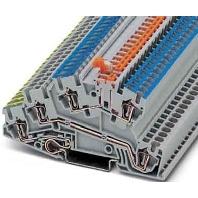 STI 2,5-PE/L/NTB - Dreistock-Zugfederklemme STI 2,5-PE/L/NTB