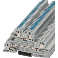 UTI 2,5-L/N (50 Stück) - Installations-Etagenklemme 0,2-4qmm, AWG 24-12 UTI 2,5-L/N