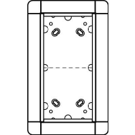 1881230 - Portier UP-Rahmen tit 2-fach, 141x238mm 1881230