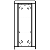 1881350 - Portier UP-Rahmen gr/br 3-fach, 141x334mm 1881350