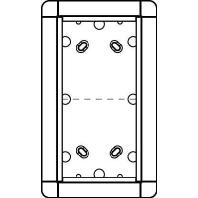1883220 - Portier AP-Rahmen si 2-fach, 133x230mm 1883220