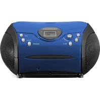 SCD24 blue/black - UKW-Radio m.CD stereo,blau/schwarz SCD24 blue/black