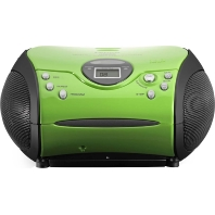 SCD24 green/black - UKW-Radio m.CD stereo,grün/schwarz SCD24 green/black