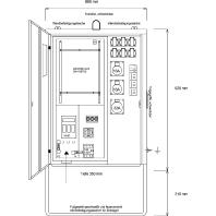 AVEV 40/21-6 - Anschluss-Verteiler AVEV 40/21-6