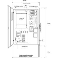 AVEV 63/111-6 - Anschluss-Verteiler AVEV 63/111-6