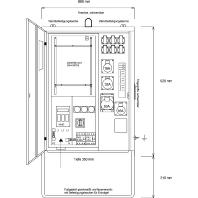 AVEV 63/211-6-V - Anschluss-Verteiler für Vattenfall AVEV 63/211-6-V