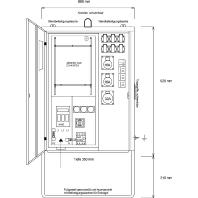 AVEV 63/21-6-V - Anschluss-Verteiler für Vattenfall AVEV 63/21-6-V