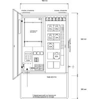 AVEV 63/321-6 - Anschluss-Verteiler AVEV 63/321-6