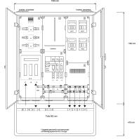 AV 250/4 - Anschluss-Schrank AV 250/4