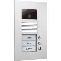 AVU14030-0030 - Video color Außenstation V PUK 3 Tasten 1-spalt AVU14030-0030